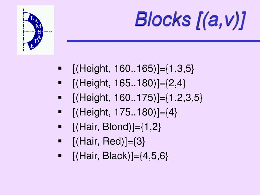 Blocks [(