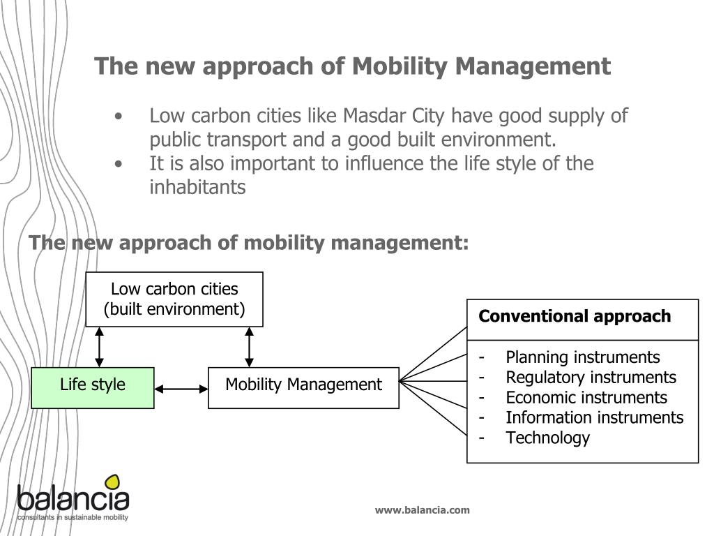 The new approach of Mobility Management