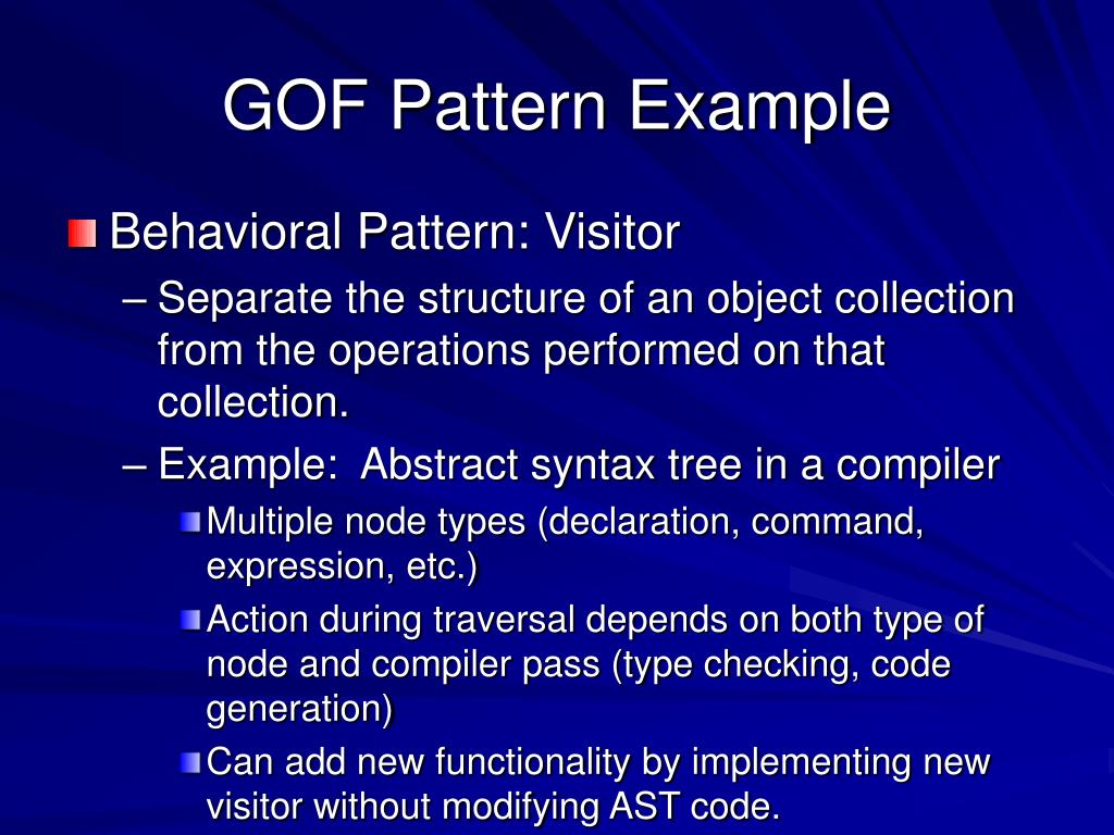 GOF Pattern Example