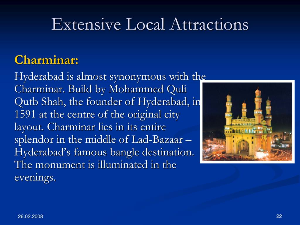 Extensive Local Attractions