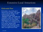 extensive local attractions23