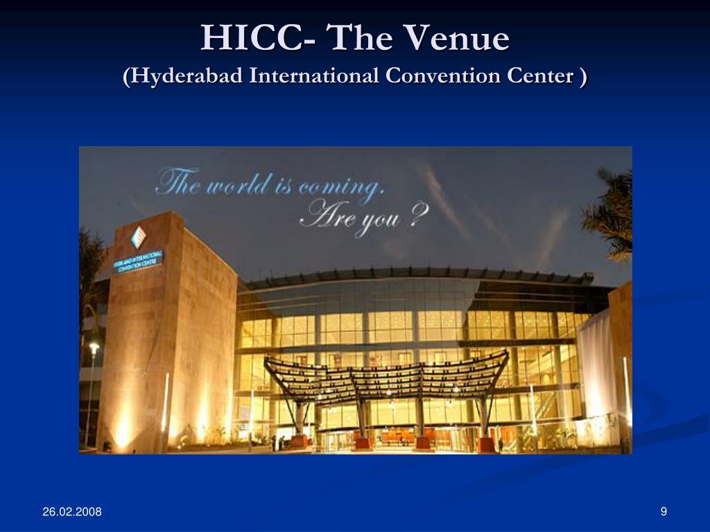 HICC- The Venue