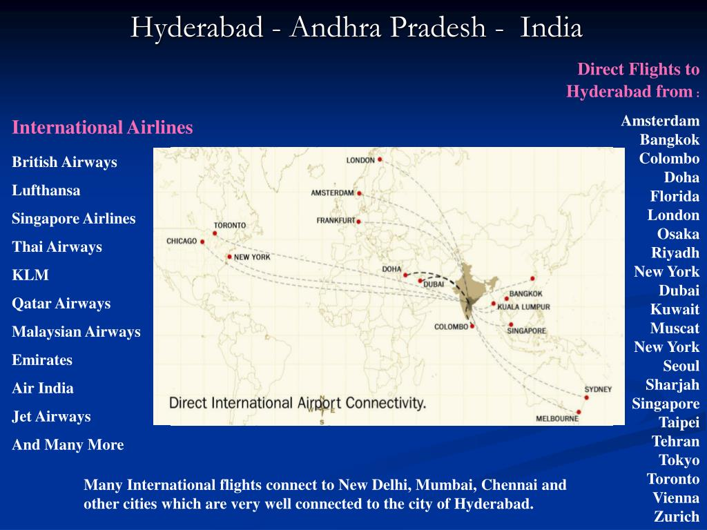 Direct Flights to