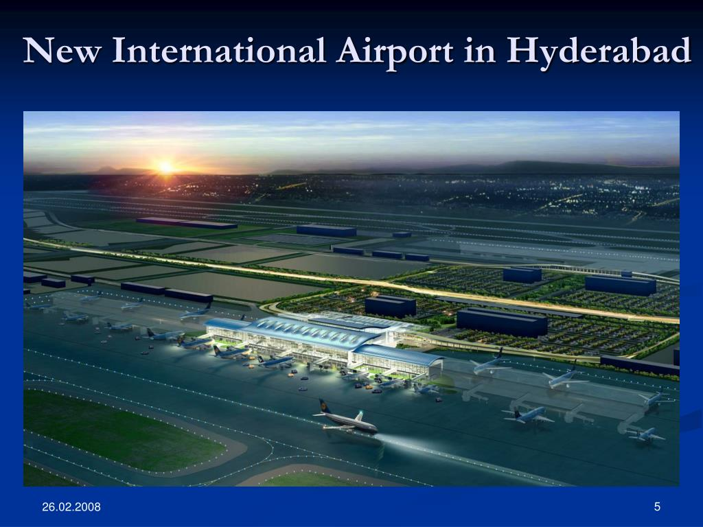 New International Airport in Hyderabad