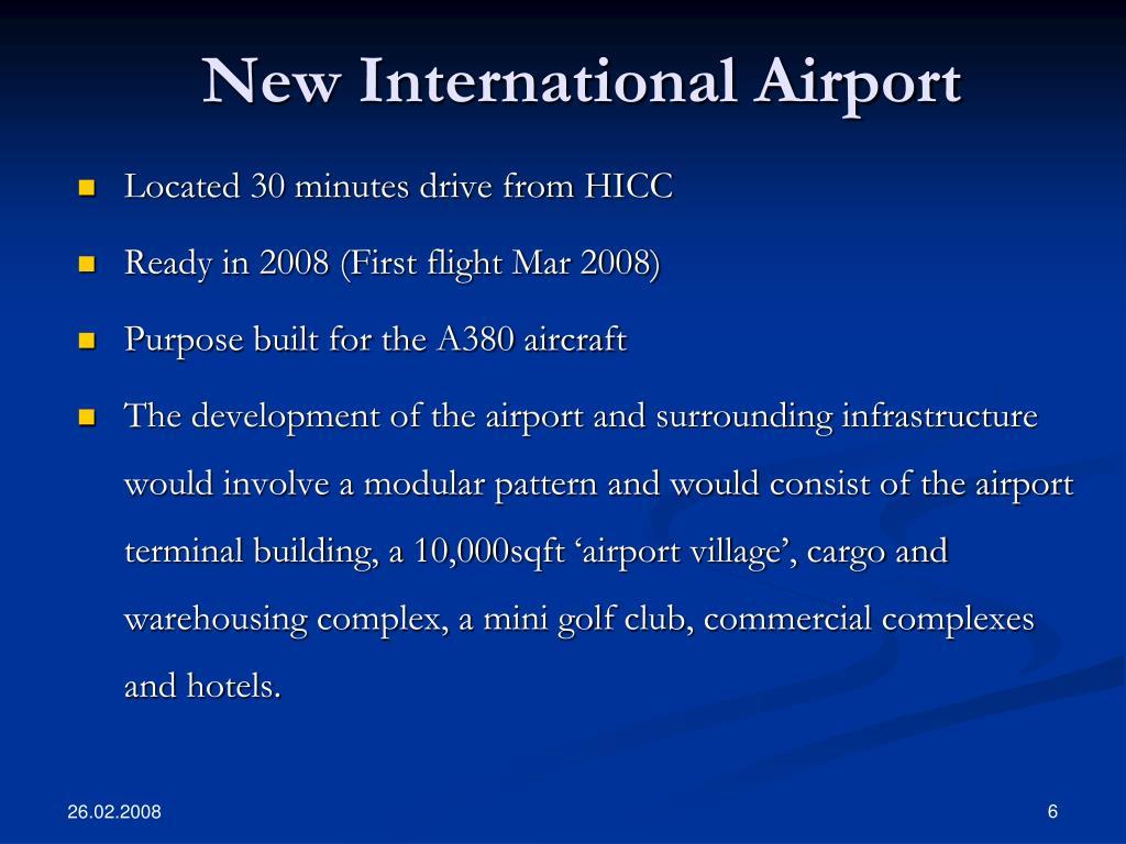 New International Airport