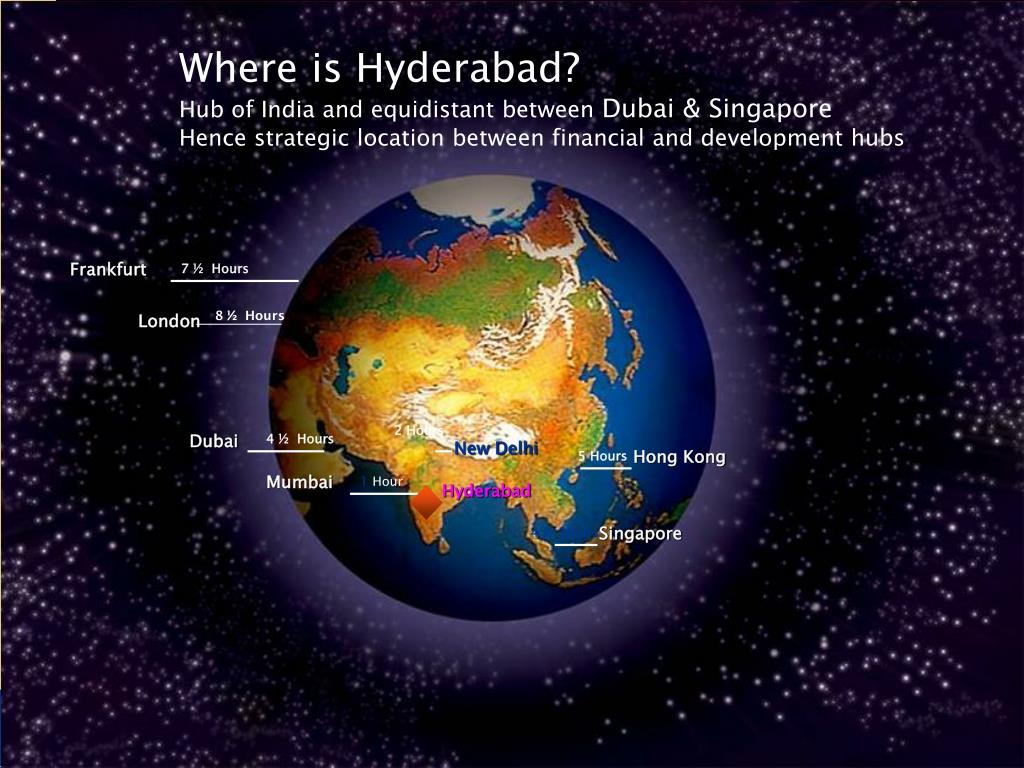 Where is Hyderabad?