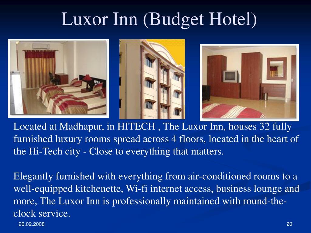 Luxor Inn (Budget Hotel)
