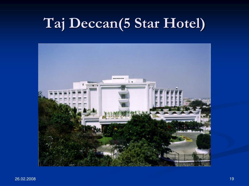 Taj Deccan(5 Star Hotel)