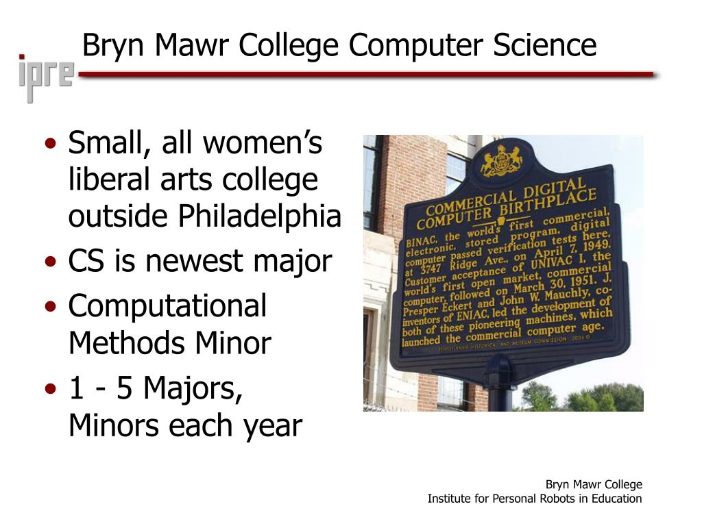 Bryn Mawr College Computer Science