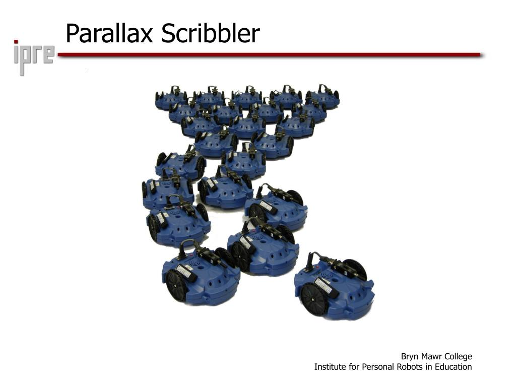 Parallax Scribbler