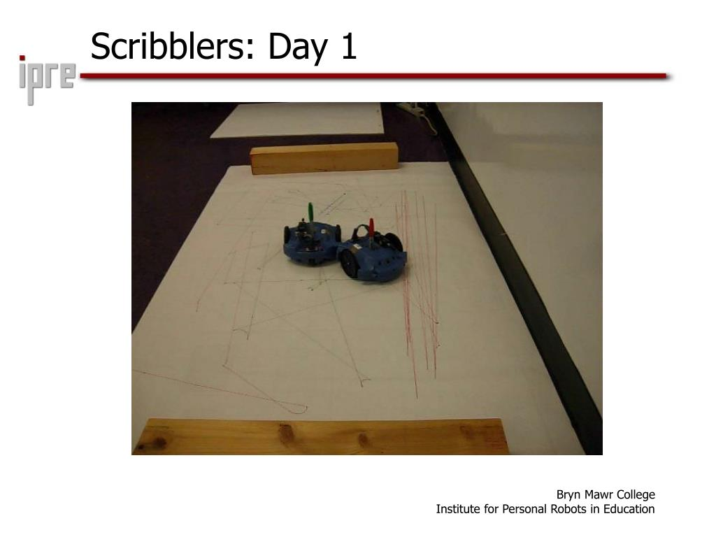 Scribblers: Day 1