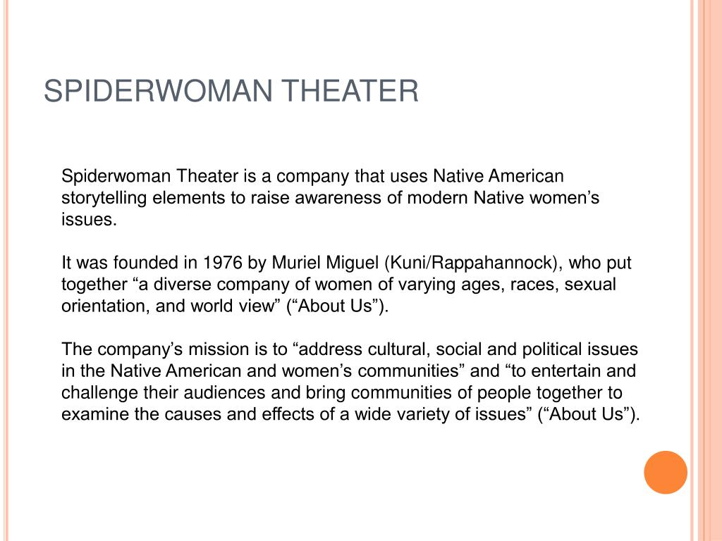 SPIDERWOMAN THEATER