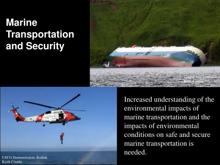 Marine Transportation and Security