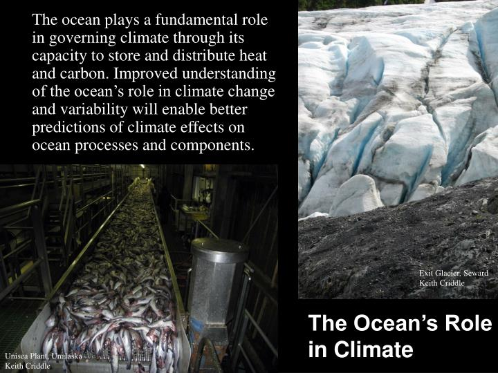 The Ocean's Role in Climate