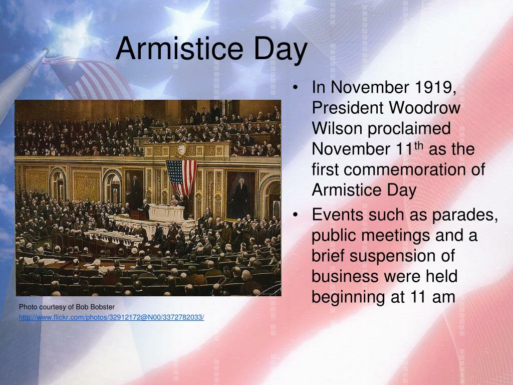 PPT - Veterans Day: History and Background PowerPoint ...