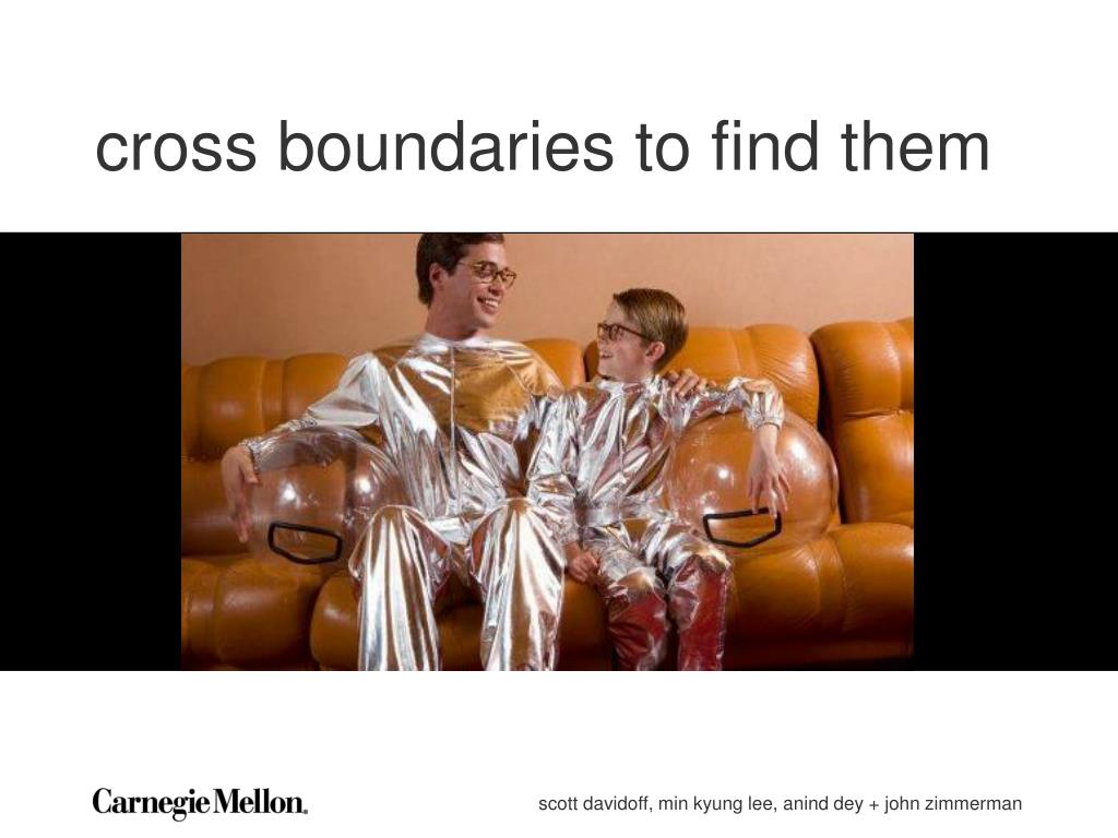 cross boundaries to find them