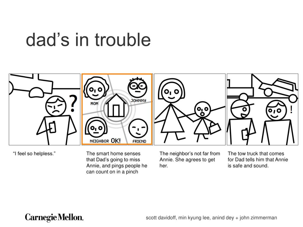 dad's in trouble
