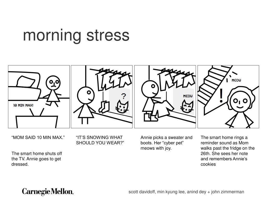 morning stress