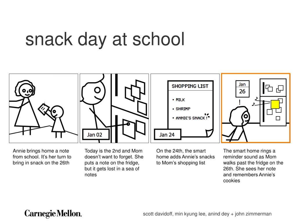 snack day at school