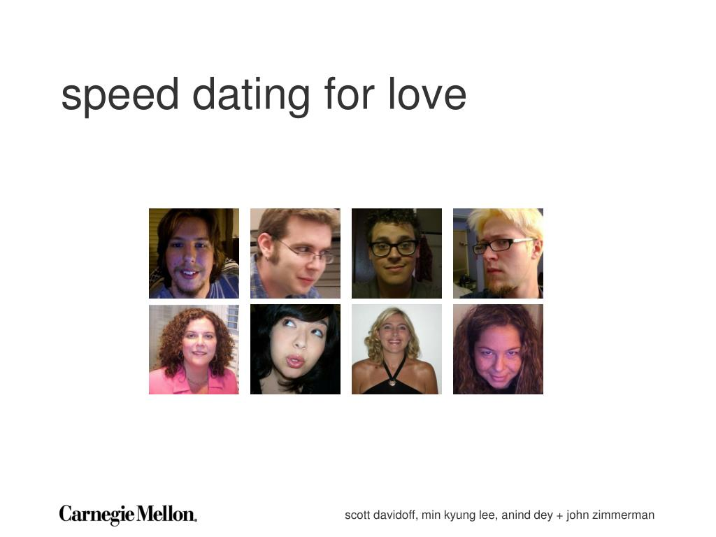 speed dating for love