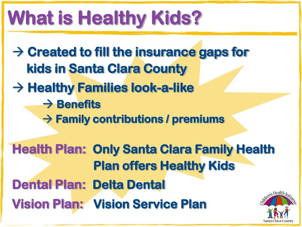 What is Healthy Kids?