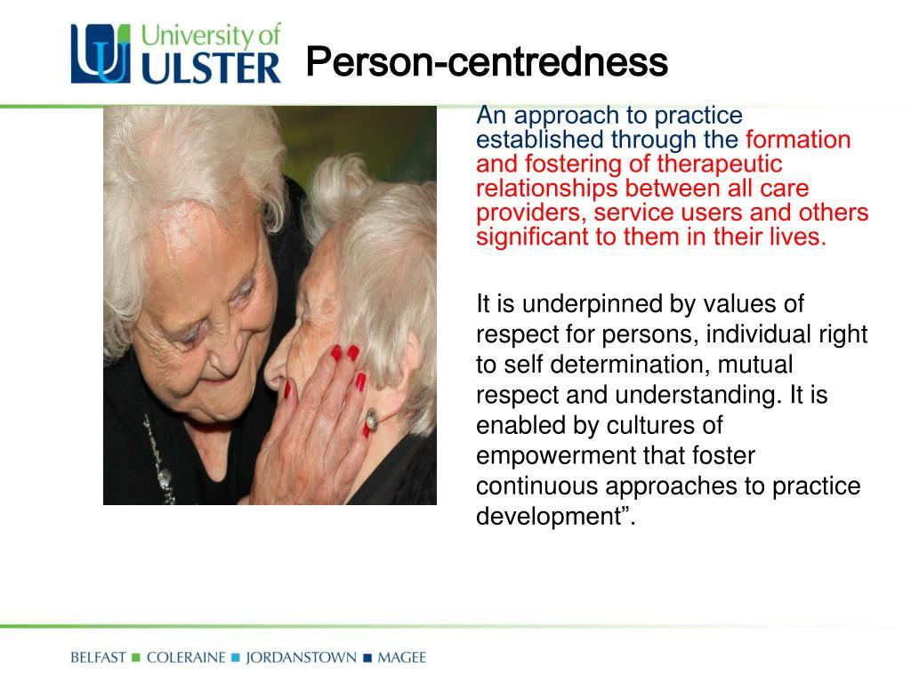 Person-centredness