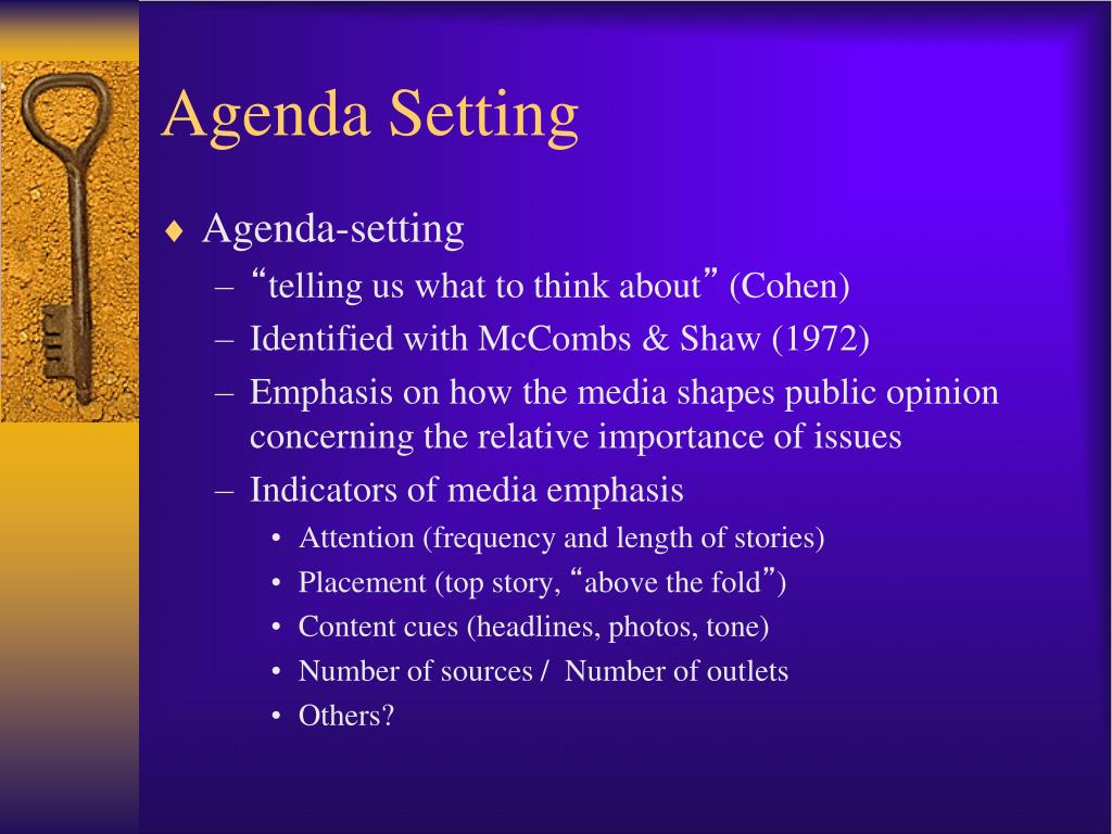 Agenda setting framing and degree of Essay Writing Service ...