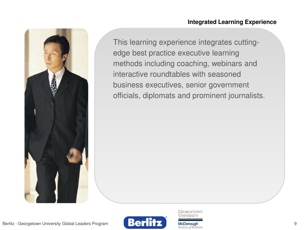 Integrated Learning Experience