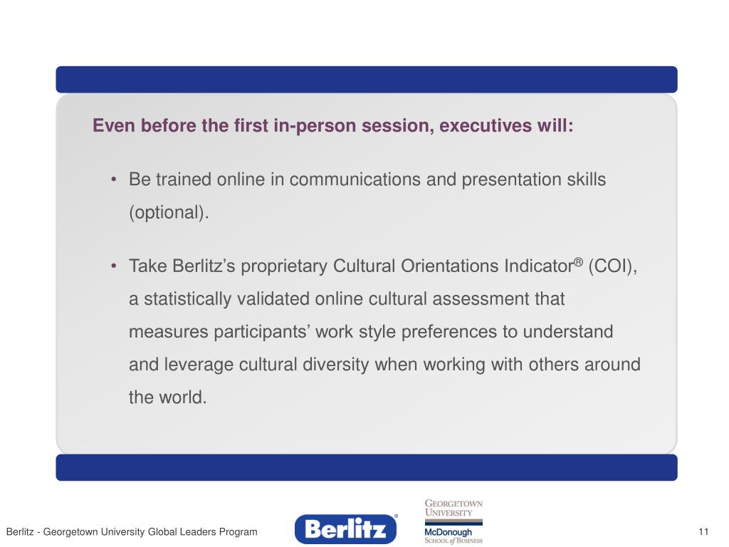 Even before the first in-person session, executives will: