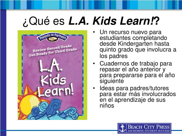 Qu es l a kids learn
