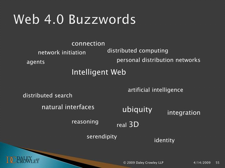 Web 4.0 Buzzwords