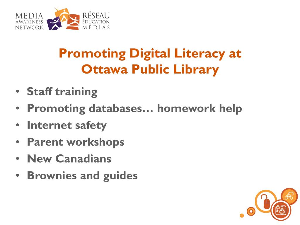 Promoting Digital Literacy at