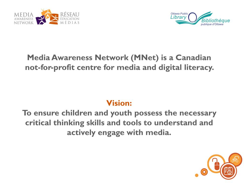 Media Awareness Network (MNet) is a Canadian