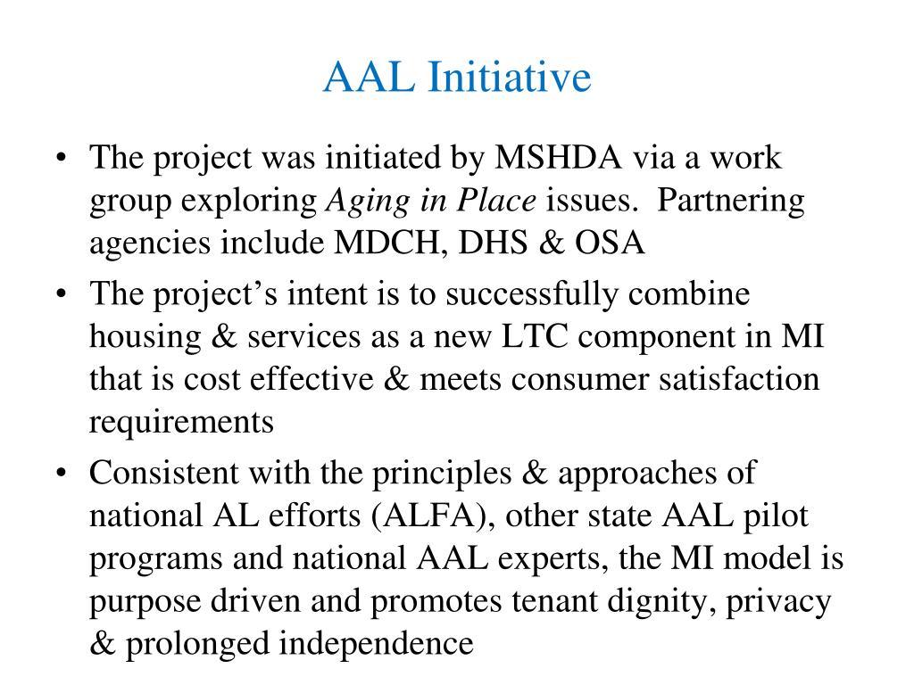 AAL Initiative