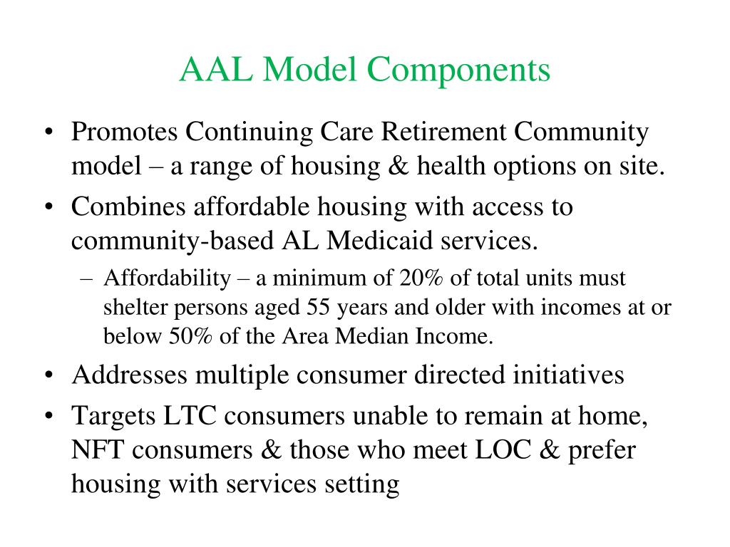 AAL Model Components