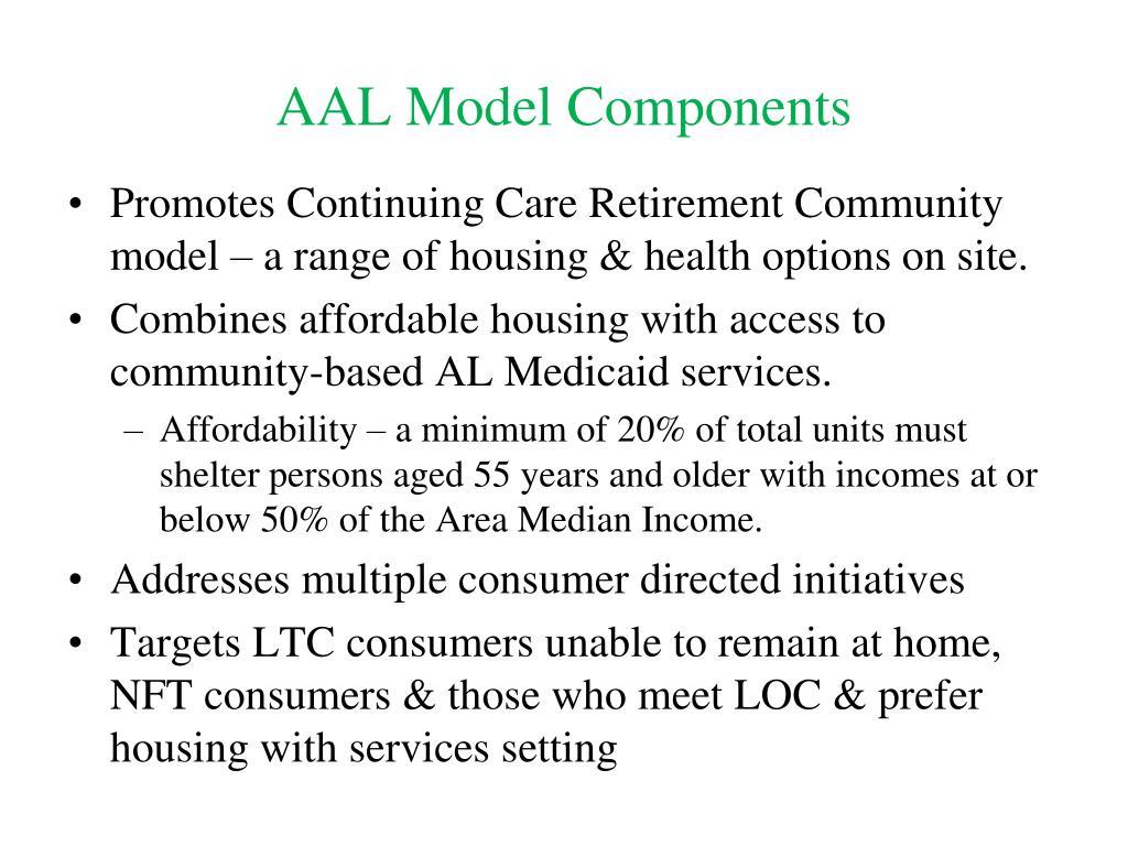 AAL Model Components