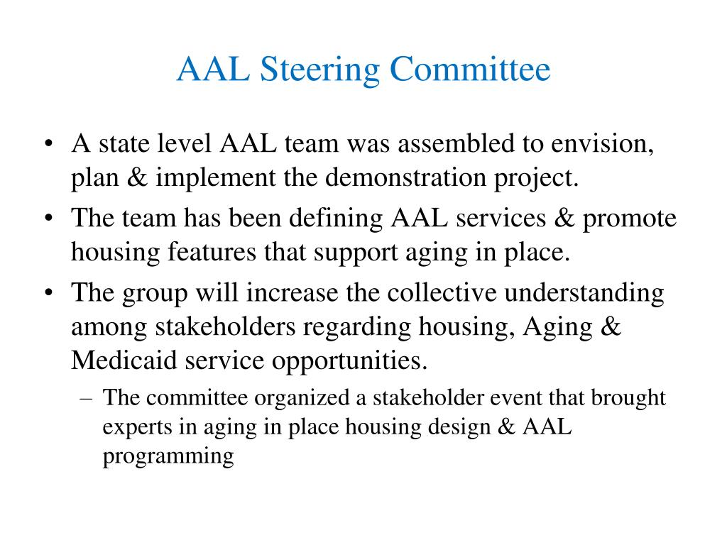 AAL Steering Committee