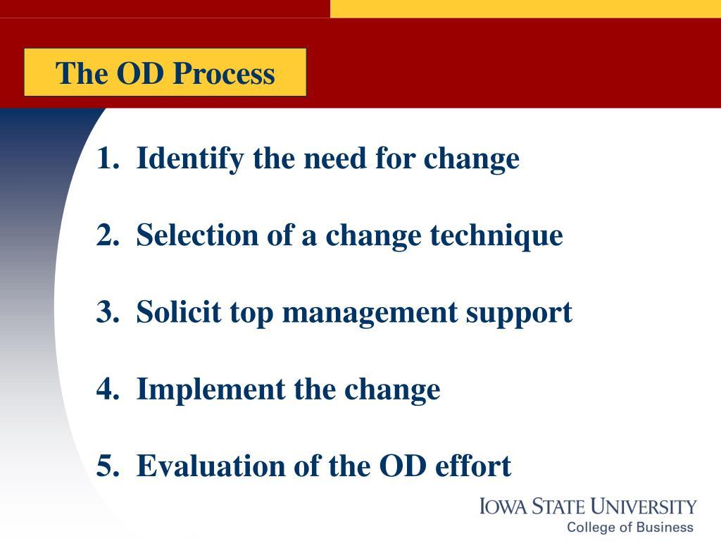 The OD Process