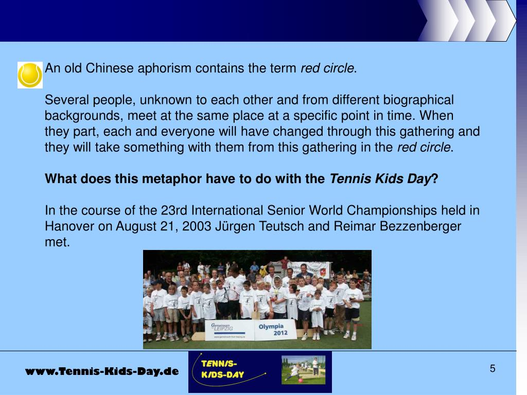 An old Chinese aphorism contains the term