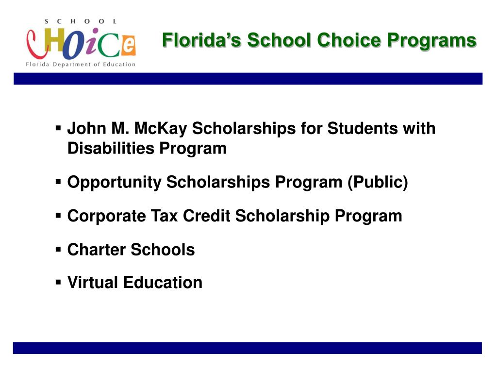 Florida's School Choice Programs