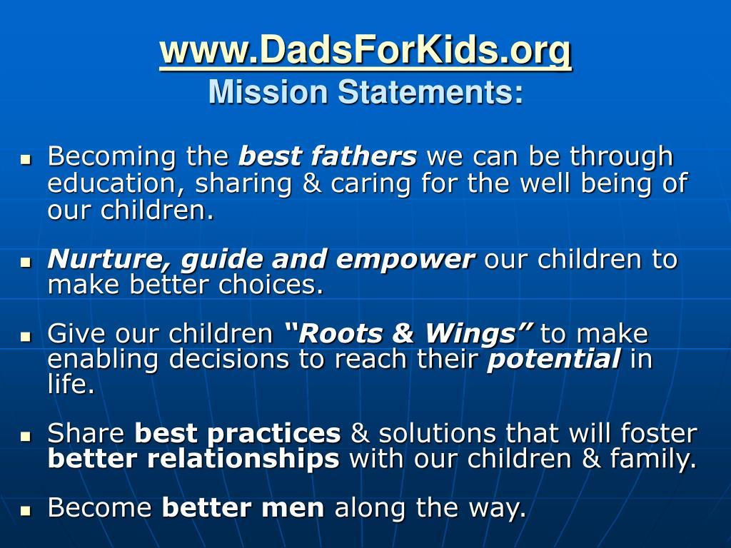 www.DadsForKids.org