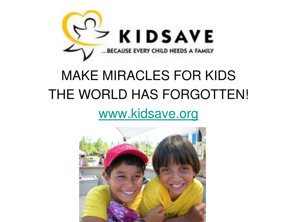 MAKE MIRACLES FOR KIDS