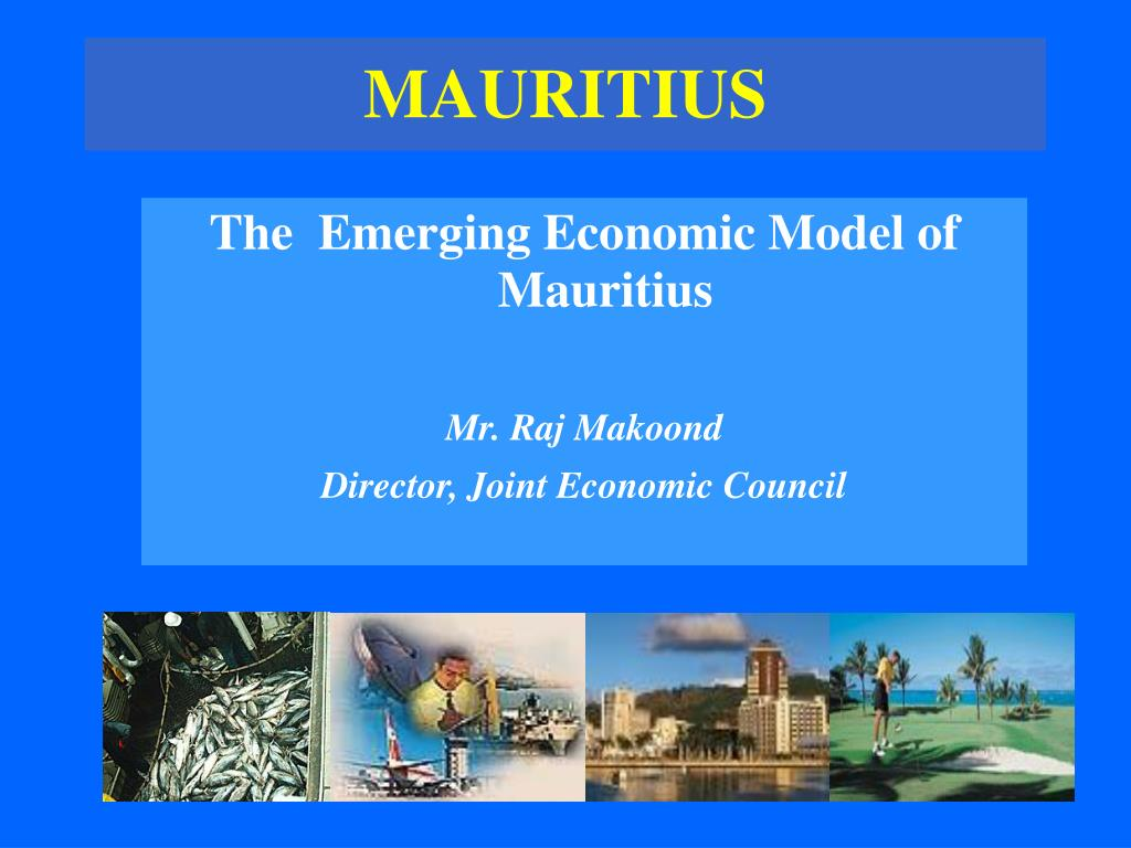 The  Emerging Economic Model of Mauritius