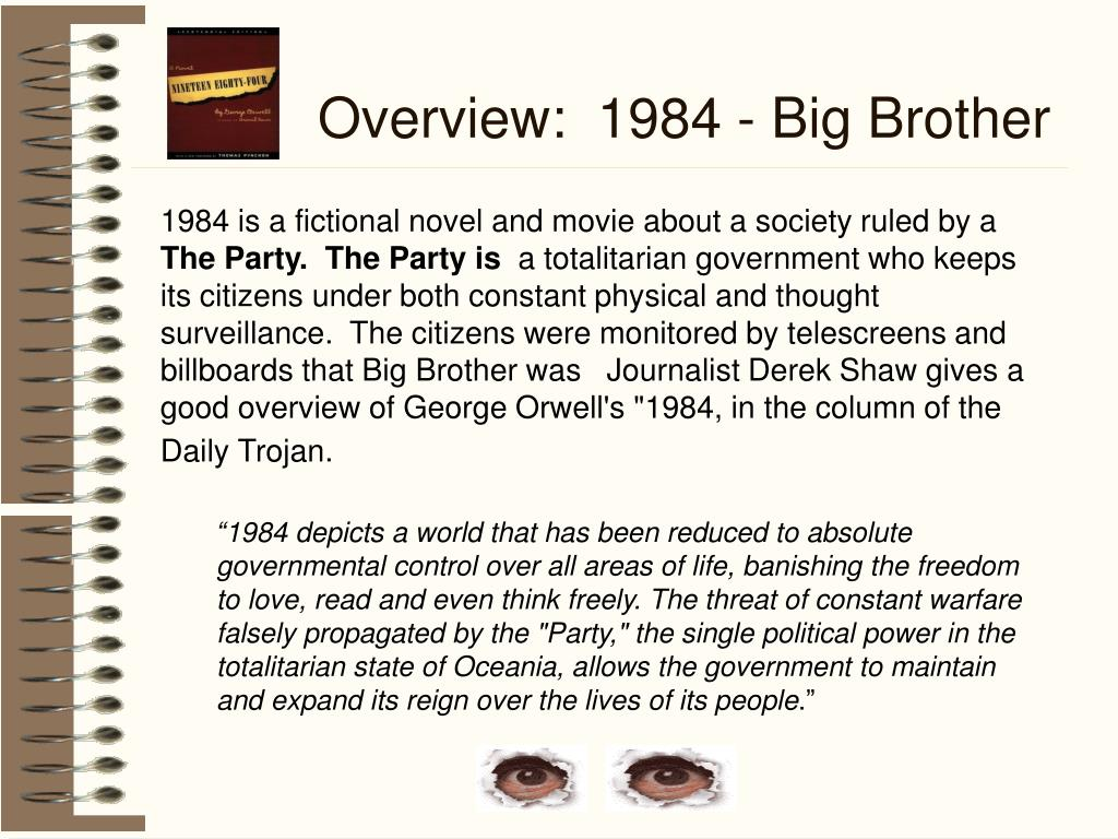 Overview:  1984 - Big Brother