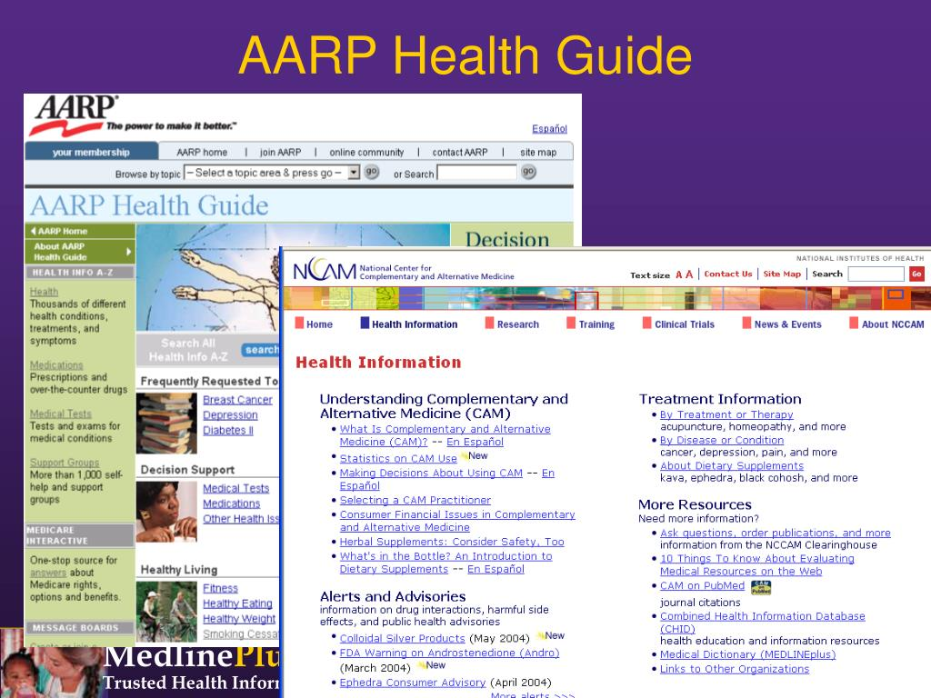 AARP Health Guide