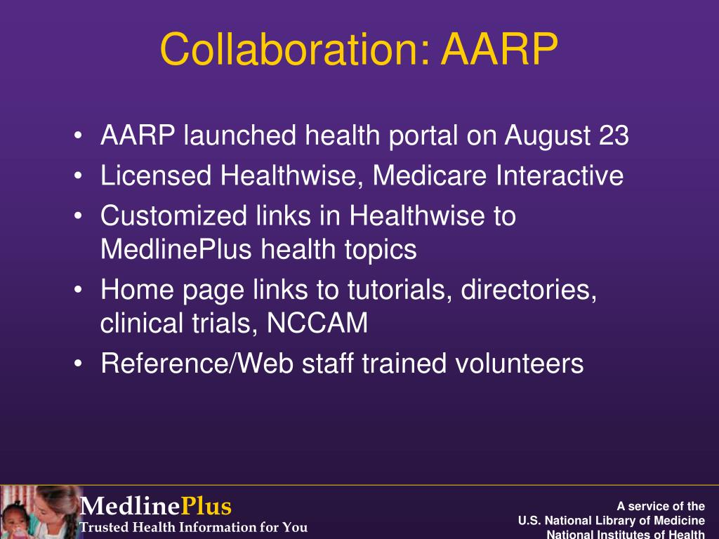 Collaboration: AARP
