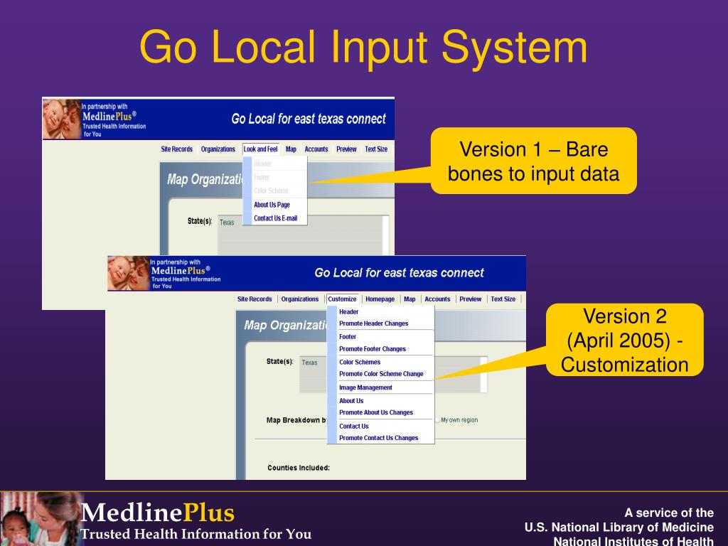 Go Local Input System