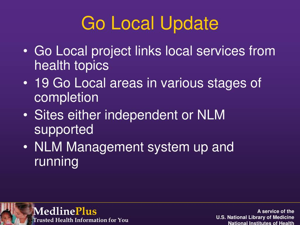 Go Local Update