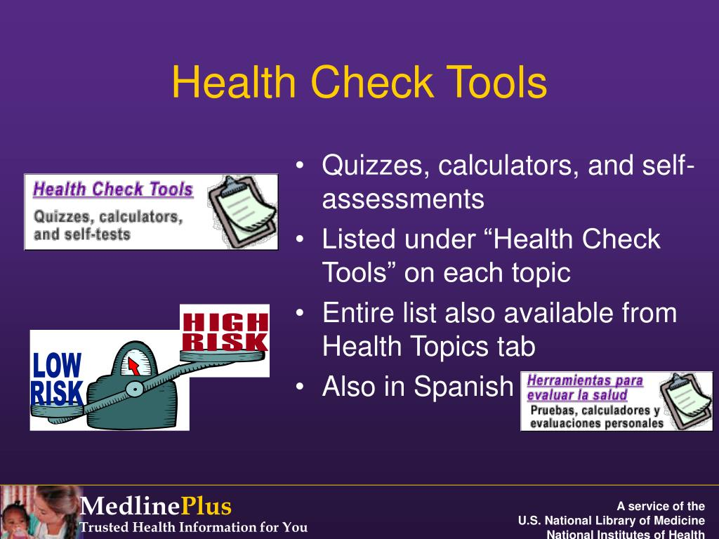 Health Check Tools