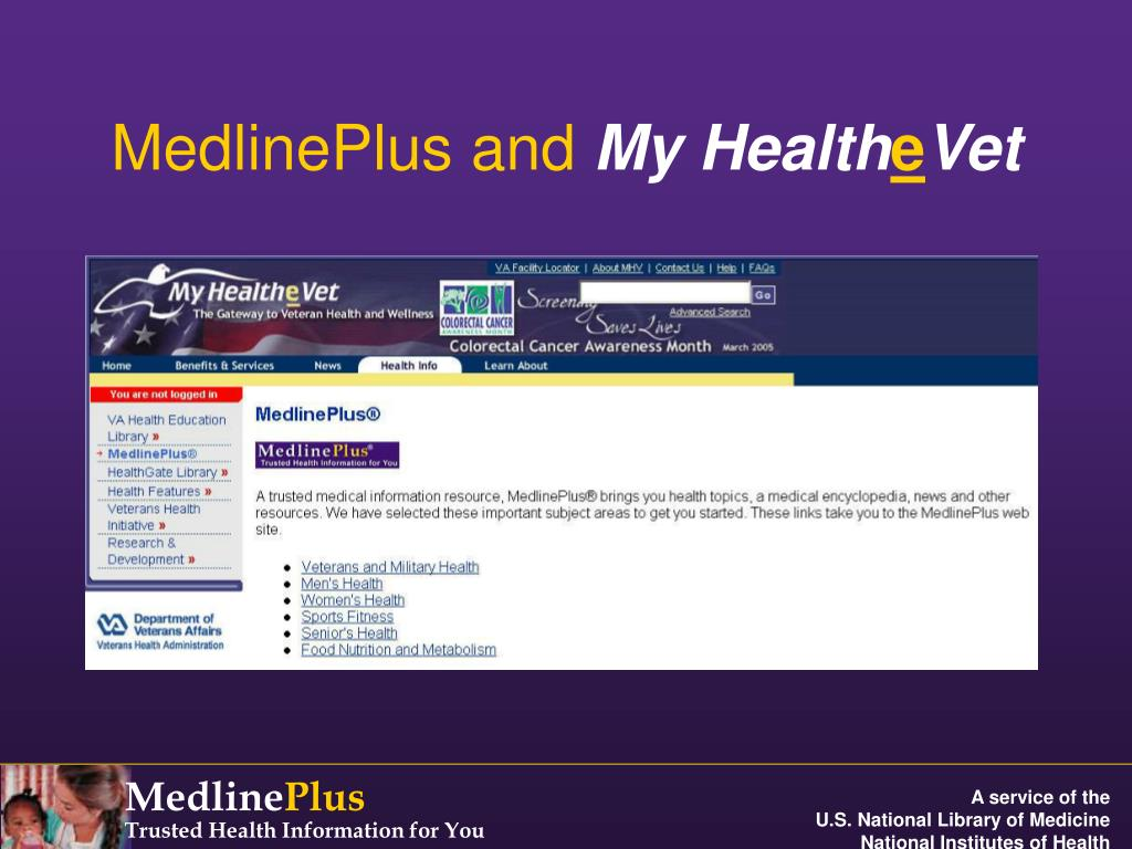 MedlinePlus and